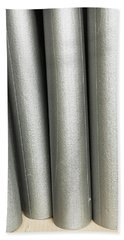 Pipe Insulation Tubes Beach Towel
