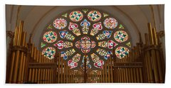 Pipe Organ - Church Beach Towel