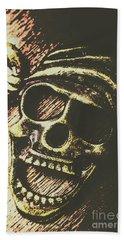 Pirate Metal Beach Towel