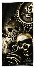 Pirate Treasure Beach Towel by Jorgo Photography - Wall Art Gallery