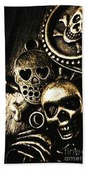 Pirate Treasure Beach Sheet by Jorgo Photography - Wall Art Gallery