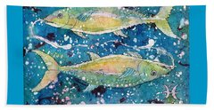 Pisces Beach Towel