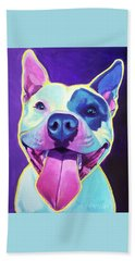 Pit Bull - Big Louie Beach Towel