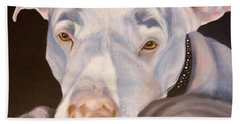 Pit Bull Lover Beach Towel
