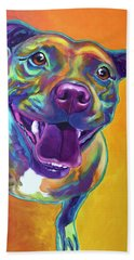 Pit Bull - Rainbow Beach Towel