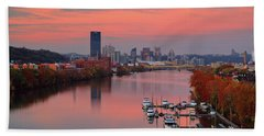 Pittsburgh 31st Street Bridge  Beach Towel
