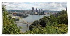 Pittsburgh Series 2  Beach Sheet by Joyce Wasser