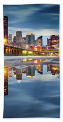 Beach Towel featuring the photograph Pittsburgh Strip District by Emmanuel Panagiotakis