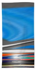 Beach Towel featuring the digital art Pittura Digital by Sheila Mcdonald