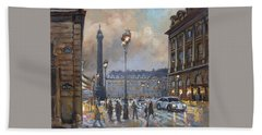 Place Vendome, Paris Beach Towel