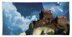 Planet Castle Beach Towel