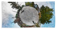 Planet Gelderseplein Rotterdam Beach Sheet