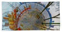 Planet Rotterdam Beach Sheet