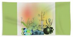Planters Beach Sheet by Iris Gelbart
