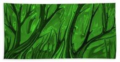 Play Green #h6 Beach Towel