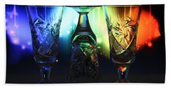 Play Of Glass And Colors Beach Towel