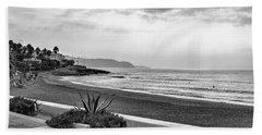 Playa Burriana, Nerja Beach Sheet by John Edwards