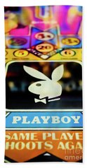 Playboy Pinball Beach Towel