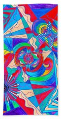 Pleiadian Restore Harmony Light Work Model Beach Towel