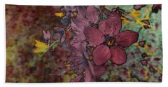 Beach Towel featuring the photograph Plum Blossom by LemonArt Photography