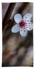 Plum Flower Beach Sheet