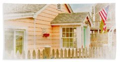 Plum Island Home Beach Sheet by Tricia Marchlik
