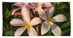 Plumeria Heaven Beach Sheet