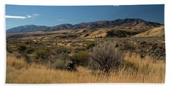 Pocatello Area Of South Idaho Beach Towel by Cindy Murphy - NightVisions