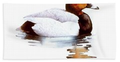 Pochard Beach Towel