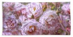 Pocket Full Of Roses Beach Towel by Kari Nanstad