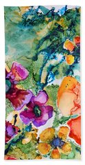 Poetry Of Petals Beach Towel