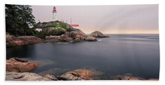Point Atkinson Lighthouse Beach Towel