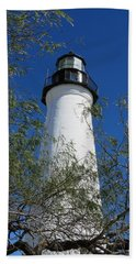 Point Isabel Light Beach Towel