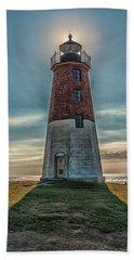 Point Judith Light Narragansett Rhode Island Beach Sheet by Brian MacLean