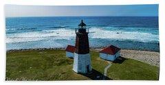 Point Judith Lighthouse Beach Sheet