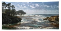 Point Lobos Beach Towel