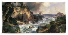 Point Lobos Monterey California Beach Towel