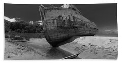 Point Reyes Boat Beach Towel