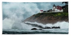 Point San Luis Lighthouse Beach Towel