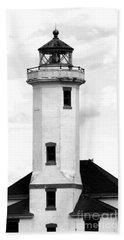 Point Wilson Lighthouse Beach Towel