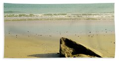 Pointed Rock At Squibby Beach Towel