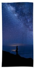 Beach Towel featuring the photograph Pointing To The Heavens by Susan Rissi Tregoning