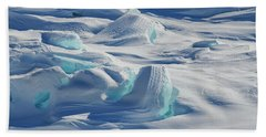 Beach Towel featuring the photograph Polar Bliss II by Doug Gibbons