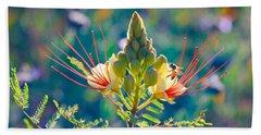 Pollination Beach Towel by Ram Vasudev
