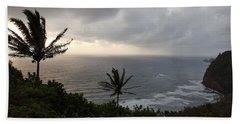 Pololu Valley, Hawaii Beach Towel