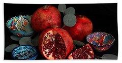Pomegranate Power Beach Sheet