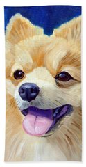 Pomeranian Beach Towels