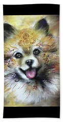 Pomeranian Beach Towel