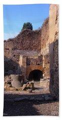 Pompeii,italy Beach Towel
