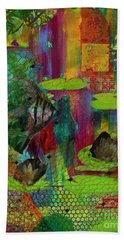 Pond Impressions Beach Towel